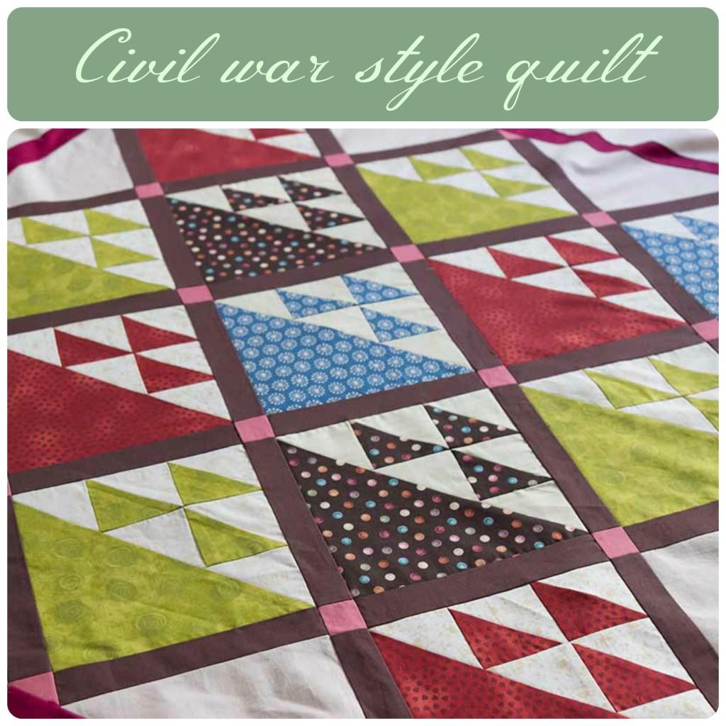 civil war style quilt