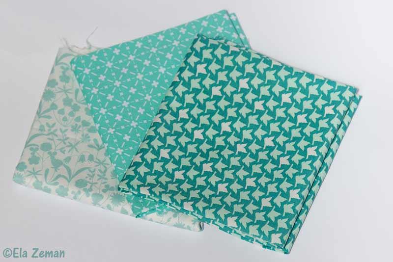 patchwork krok po kroku tkaniny