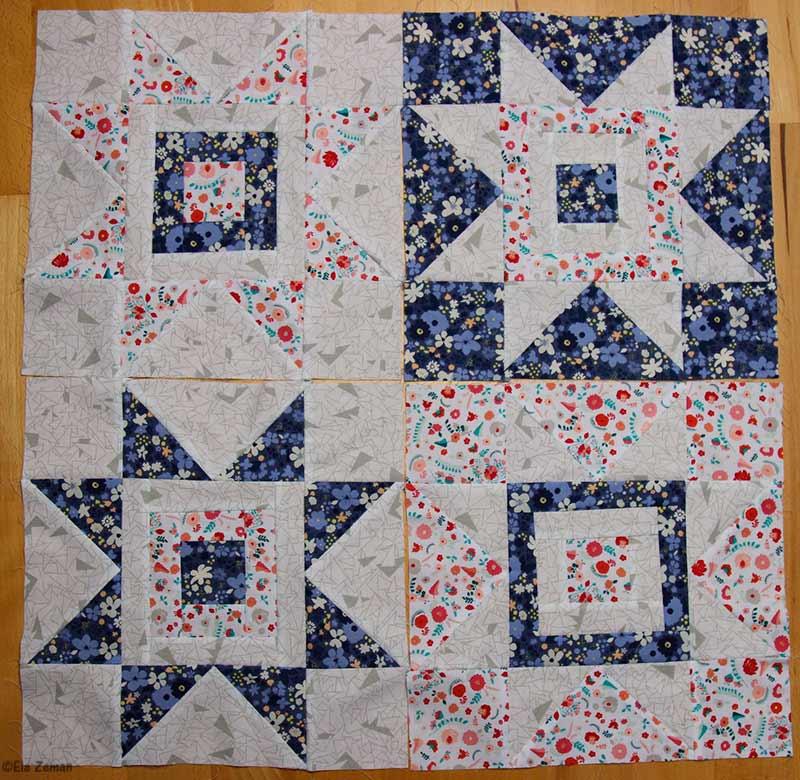 patchworkowy wzór
