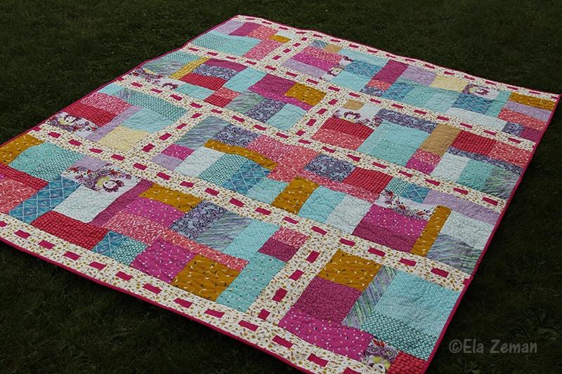 patchworkowa narzuta Fairy Tale Lane Tula Pink