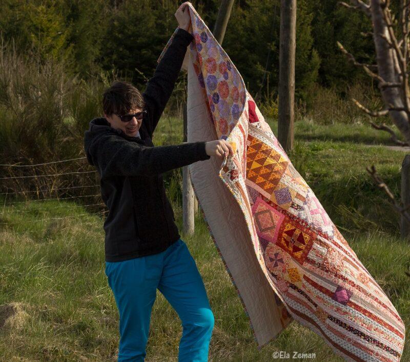 gipsy wife quilt wiosenne wietrzenie patchworków elazeman