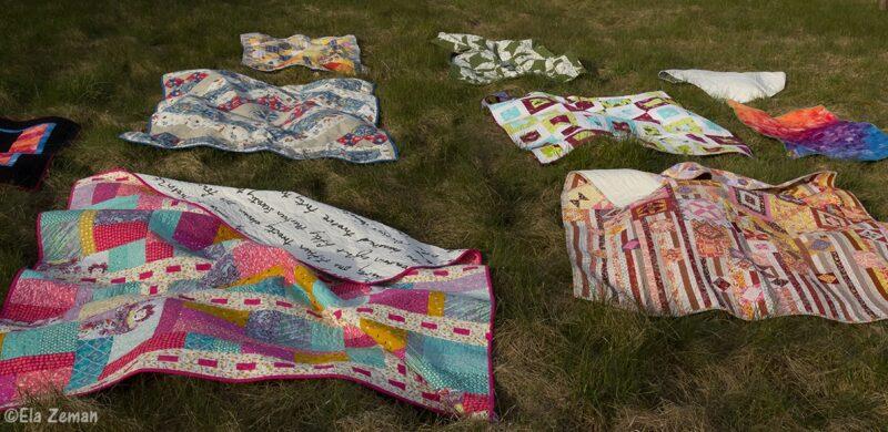 wiosenne wietrzenie patchworków elazeman