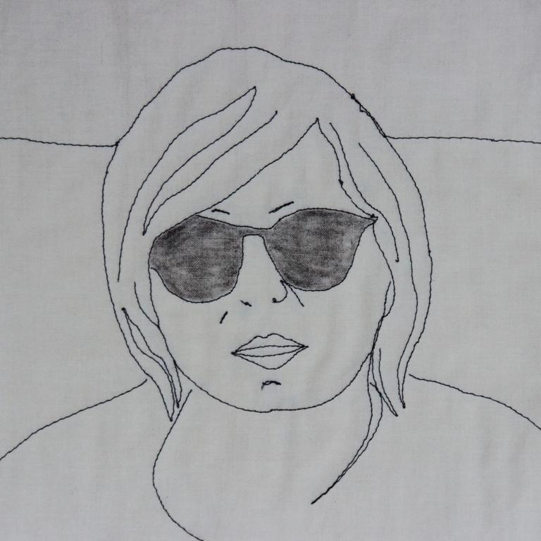 artquilt portrait elazeman.pl