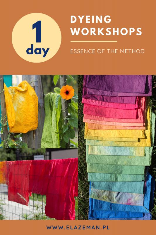 dyeing workshops