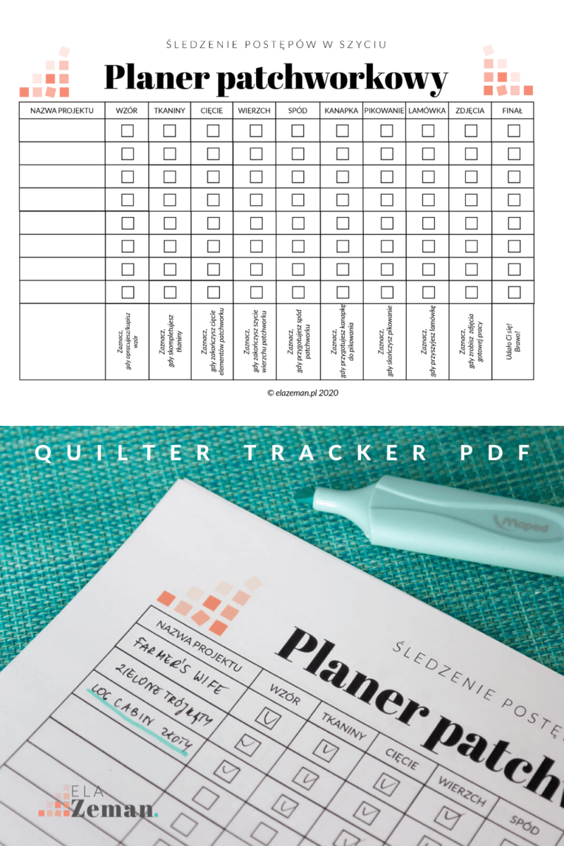 quilter tracker 1